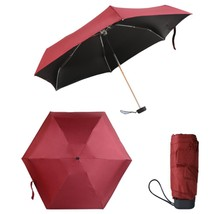 Adeeing Pretty Mini Folding Umbrella Anti-UV Sun/Rain Windproof Umbrella... - $19.53