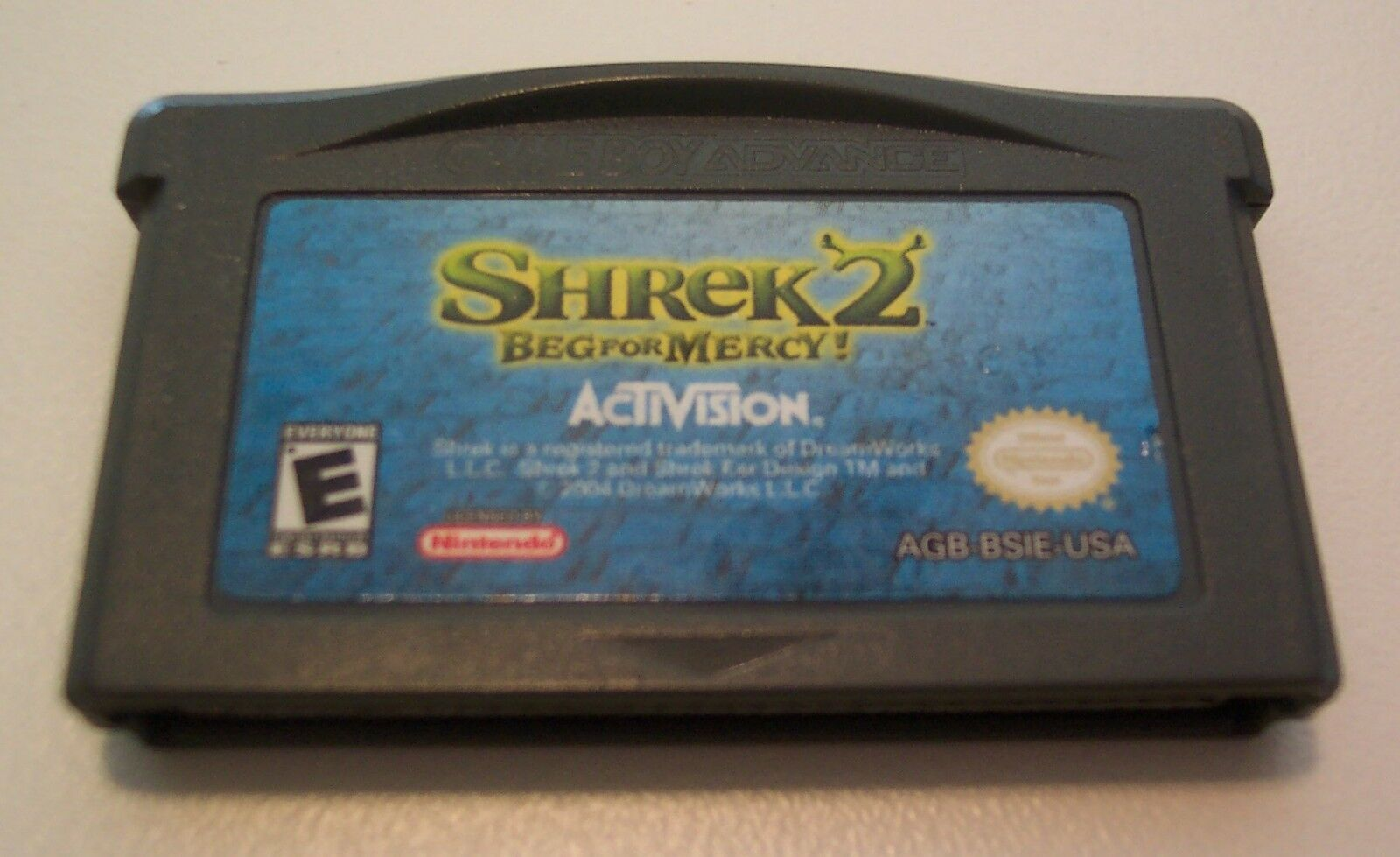 SHREK 2 Beg For Mercy NINTENDO GAME BOY ADAVANCE GAME CART ONLY 2004