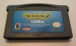 SHREK 2 Beg For Mercy NINTENDO GAME BOY ADAVANCE GAME CART ONLY 2004 - $14.85