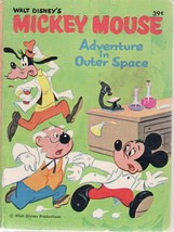 MICKEY MOUSE ADVENTURE IN OUTER SPACE-BIG LITTE BOOK-68 VG - $25.22
