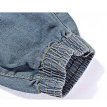 High quality men's jeans Casual  hole jeans men balmai jeans men denim trousers  image 9