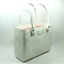 Kate Spade Quinn Embossed Ace of Spades Cream / Ivory Tote Handbag - $97.12