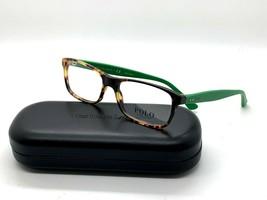 New Authentic Ralph Lauren 2094 5384 Tortoise/Green 53mm Eyeglasses RX &... - $58.17