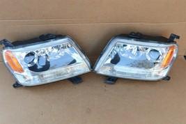 06-08 Suzuki Grand Vitara Halogen Headlight Light Lamp Matching Set L&R POLISHED image 2