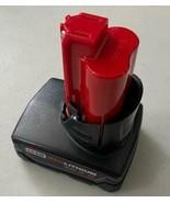 Milwaukee 48-11-2440 M12 - Red Lithium Battery (12V, 4.0 Ah)  - $33.66