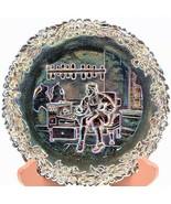 Fenton Carnival Glass Commemorative No. 4 Plate Annual Series of Collect... - $18.80