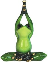 "George S. Chen Imports Green Frog Yoga Figurines (Set of 2), 5"" - $16.95"