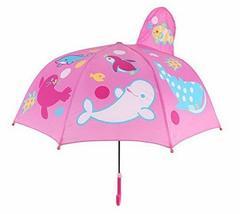 Gentle Meow Cute Creative Cartoon Children's Umbrella, Marine Paradise - $22.97