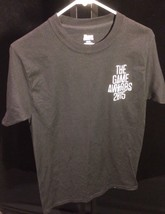 Hanes Beefy The Games Awards 2015 Black Small T Shirt Bin#9 - $9.04