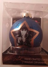 Kurt S Adler Elvis Presley Hand Crafted Glass Holiday Ornament Signature 2005 - $13.99