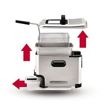 T-Fal FR8000 Deep Fryer with Basket, Oil Fryer with Oil Filtration, Easy to Clea image 7
