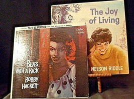 Nelson Riddle - The Joy of Living and Bobby Hackett - Blues with a Kick AA20-RC2 image 1