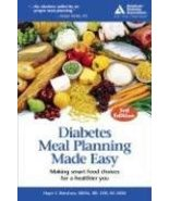 Diabetes Meal Planning Made Easy, 3rd Edition Warshaw,Hope - $3.95