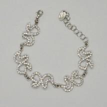Silver Bracelet 925 Wings of Butterfly Zircon by Maria Ielpo Made in Italy image 1