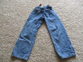 Lee Premium Select boys jeans, blue, pre-owned, Size 8R, adjustable waist - $1.97