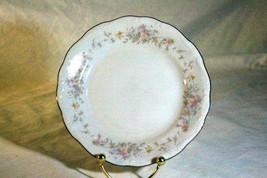 "Johann Haviland Floral Splendor Bread Plate 6 1/4"" Wide - $2.76"