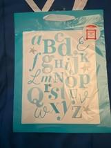 American Greetings Alphabet Gift Bag Neutral *NEW* kk1 - $5.50