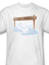 Bedford Falls It's A Wonderful Life Christmas Movie Graphic T-shirt PAR140 image 3