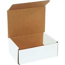 Boxes Fast BFM863 Corrugated Cardboard Mailers, 8 x 6 x 3 Inches, Tuck T... - $59.09