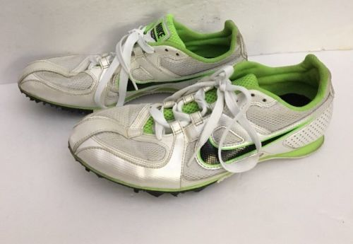 Primary image for Nike 468648-103 Rival MD Neon Green Track Spike Running Sneakers Men's U.S. 9.5