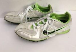 Nike 468648-103 Rival MD Neon Green Track Spike Running Sneakers Men's U... - $33.83