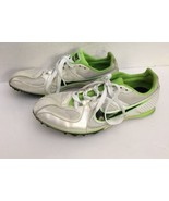 Nike 468648-103 Rival MD Neon Green Track Spike Running Sneakers Men's U... - $33.83