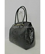NWT Brahmin Alice Carryall Tote / Shoulder Bag in Black Melbourne - $319.00