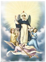 Catholic Print Picture ST. VINCENT FERRER Dominican - ready to frame 7 1... - $14.01