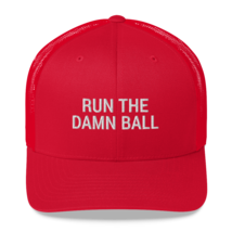 Run the Damn Ball / run the Damn Ball / Trucker Cap image 9