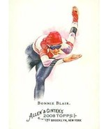 Bonnie Blair trading card (Speedskater) 2008 Topps Allen & Ginters Champ... - $4.00