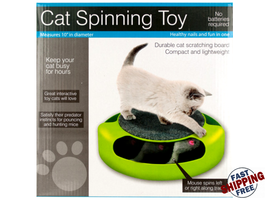 Cat Scratch Pad Spinning Toy with Mouse - 1 pack - $38.99