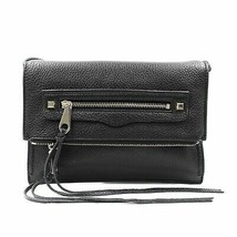 Rebecca Minkoff Regan Small Black Ladies Clutch Bag HF16EPBC45 - £77.40 GBP