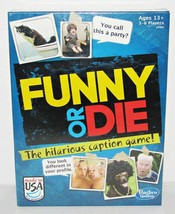 Funny Or Die Card Game Hasbro New - $17.98