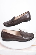 Cole Haan Womens Loafers Shoes Sz 9.5 Brown Pinch Genevieve Leather Gran... - $59.39