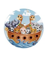 """Noah's Ark Round Kids Plate NEW BPA-Free Non-Toxic Durable 7 7/8"""" - $8.88"""
