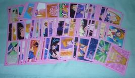 Sailor moon rare lot 95 pcs sticker mixed random card toei animation - $85.98