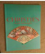 Christie's South Kensington Auction Catalog Vintage Fans September 2000 NF - $23.00