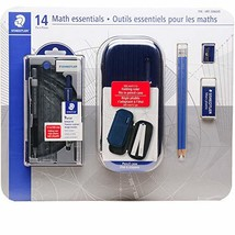 Staedtler Math Essentials Back to School Kit 14 Pc Kit - Geometry Compas... - $28.07