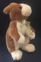 Commonwealth Elegant Bunny Rabbit Plush Stuffed Animal 1999 Toy Brown White - $9.89
