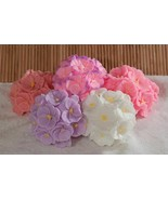Bouquet Orchids Flower Silicone Mould Candle Soap Making Epoxy Resin Cla... - $19.62
