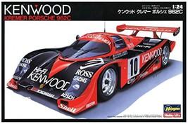 Hasagawa 1/24 Kenwood Cremer Poosche 962G Plastic model 20287 F/S - $137.34