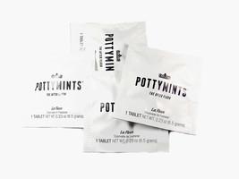 PottyMints Travel Bathroom Toilet Odor Eliminator Freshener Tablets Whit... - $7.99