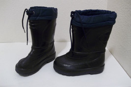 Weather Guard Made in Canada Winter Snow Boots w/Felt Liners Blk/blue 11... - £8.51 GBP
