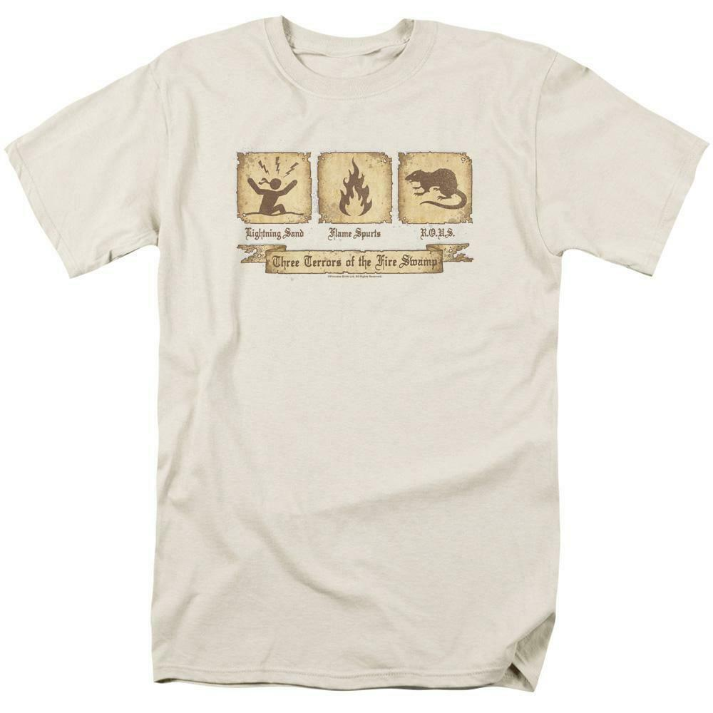 The Princess Bride t-shirt 3 Terrors of Fire Swamp retro 80's graphic tee PB112