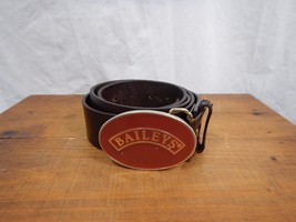 "Baileys Irish Cream Logo Belt Buckle w/belt 50""  - $15.99"