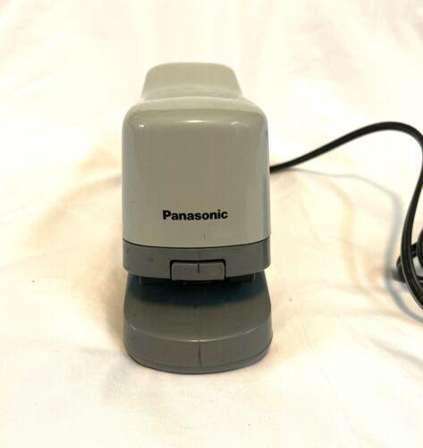 "Electric Stapler Panasonic AS-302N 1/4"" staples, 20 sheet capacity Made in Japan"