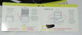GANZ Brand Beyond a Bag BB224 Raven Color Toiletry Notebook  Organizer image 10