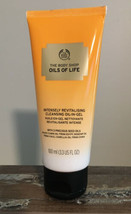 """The Body Shop """"Oils Of Life"""" Revitalizing Oil-In-Gel Facial Cleanser 100... - $13.50"""