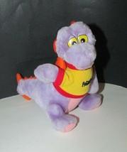 """Figment Plush Doll 7"""" Disney World Toy Epcot Dragon Vintage w/ shirt - $9.89"""