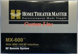 URC Home Theater Master MX-600 RF Remote System with MRF-100 RF Interface - $195.99